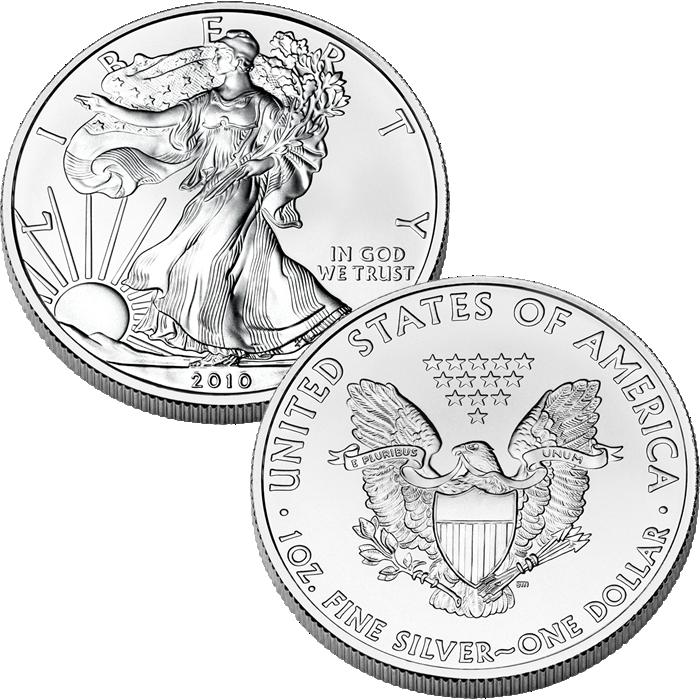 American Eagle Silver Bullion American Eagle Silver Dollar