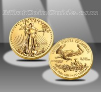 2011 $50 American Eagle Gold Bullion Coin - 2010 Version Shown (US Mint images)