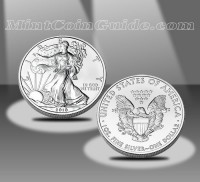 2011 American Eagle Silver Bullion Coin - 2010 Version Shown (US Mint Images)