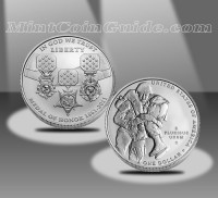 2011 Medal of Honor Uncirculated Silver Dollar (US Mint images)