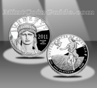 2011-W American Eagle Platinum Proof Coin