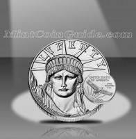 2001 American Platinum Eagle Coins