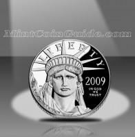 2009 American Platinum Eagle Coins