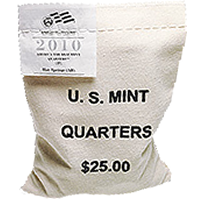 2012 Chaco Culture National Historical Park Quarter 100-Coin Bags