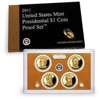 2011 United States Mint Presidential $1 Coin Proof Set (US Mint image)