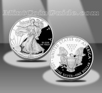 2011-W $1 American Eagle Silver Proof Coin (US Mint images)