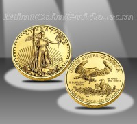 2012 $50 American Eagle Gold Bullion Coin (US Mint images)