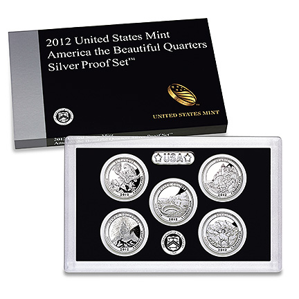 2012 United States Mint America the Beautiful Quarters Silver Proof Set™ (US Mint image)