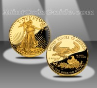 2012-W $50 American Eagle Gold Proof Coin (US Mint images)